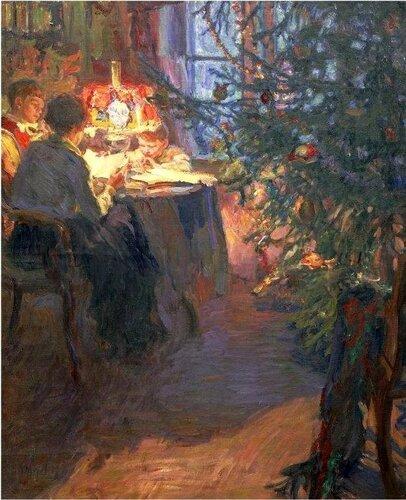 Александр Моравов «Рождественская ёлка»