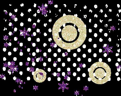 россыпи снежинок