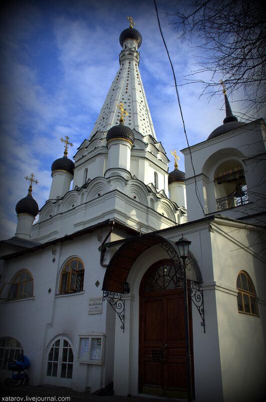Храм Покрова Пресвятой Богородицы в Медведкове