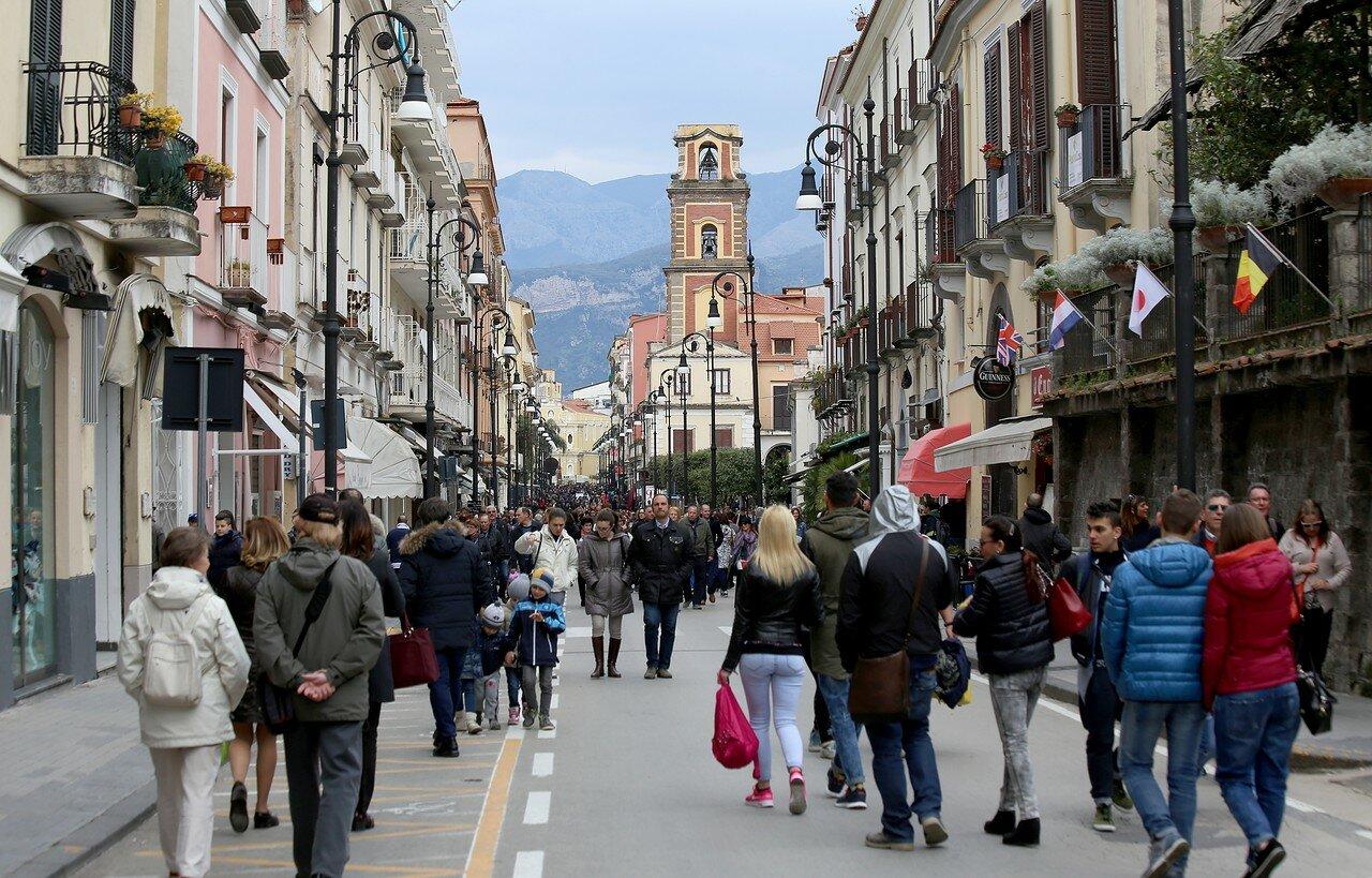 Sorrento. Pasquetta on Coroso Italia