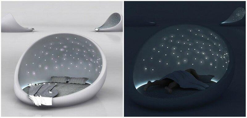 Кровать, ты просто космос!