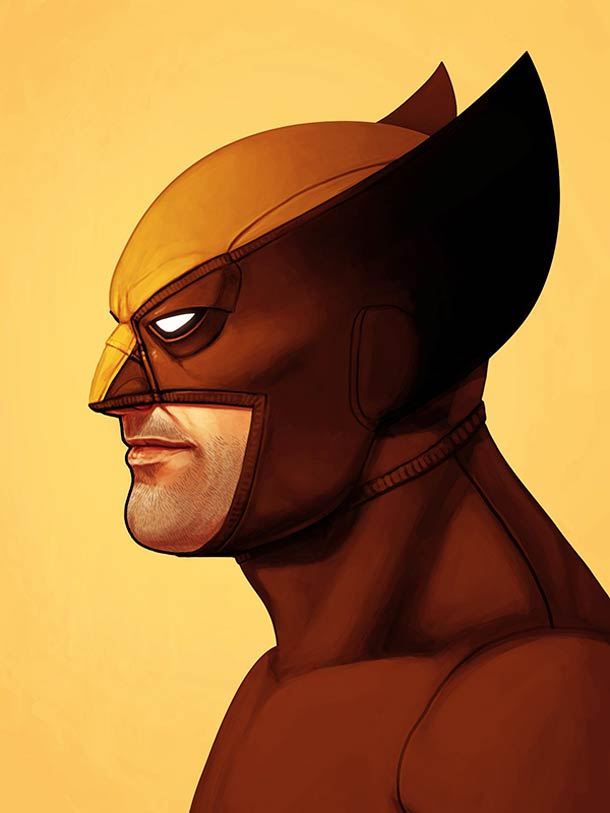 Marvel x Mitchell – 25 superbes portraits de super-heros (25 pics)
