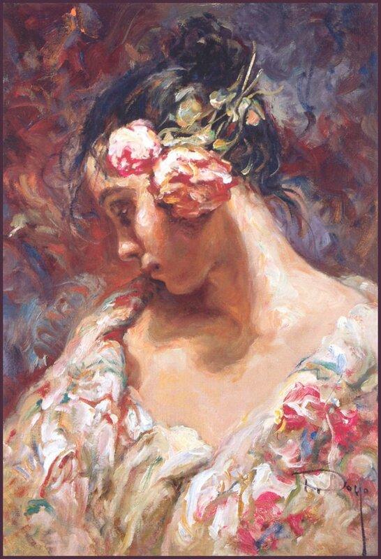 Женщина - ты муза и душа. Испанский художник Luis Royo