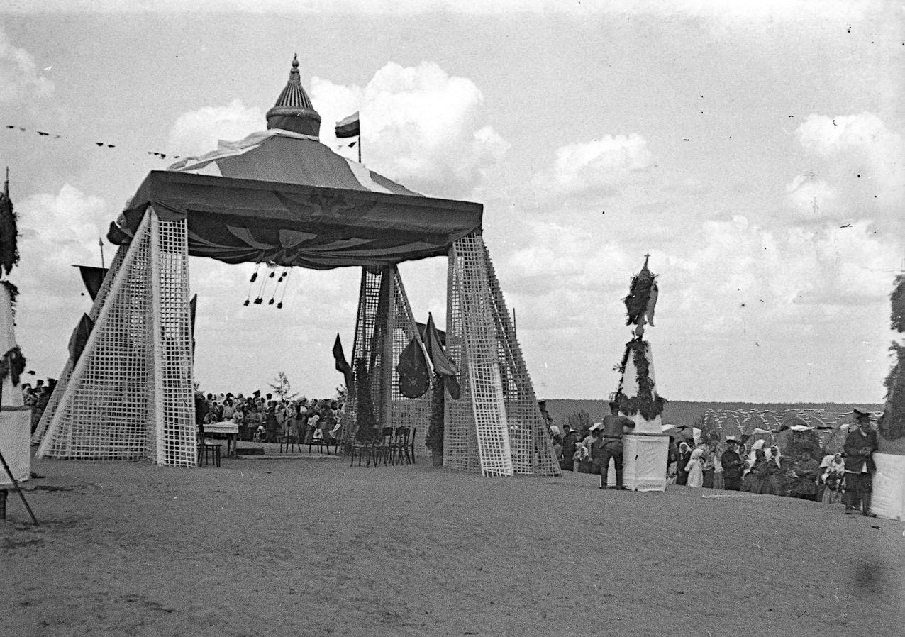 Открытие моста. Шатер на Вязовой горе