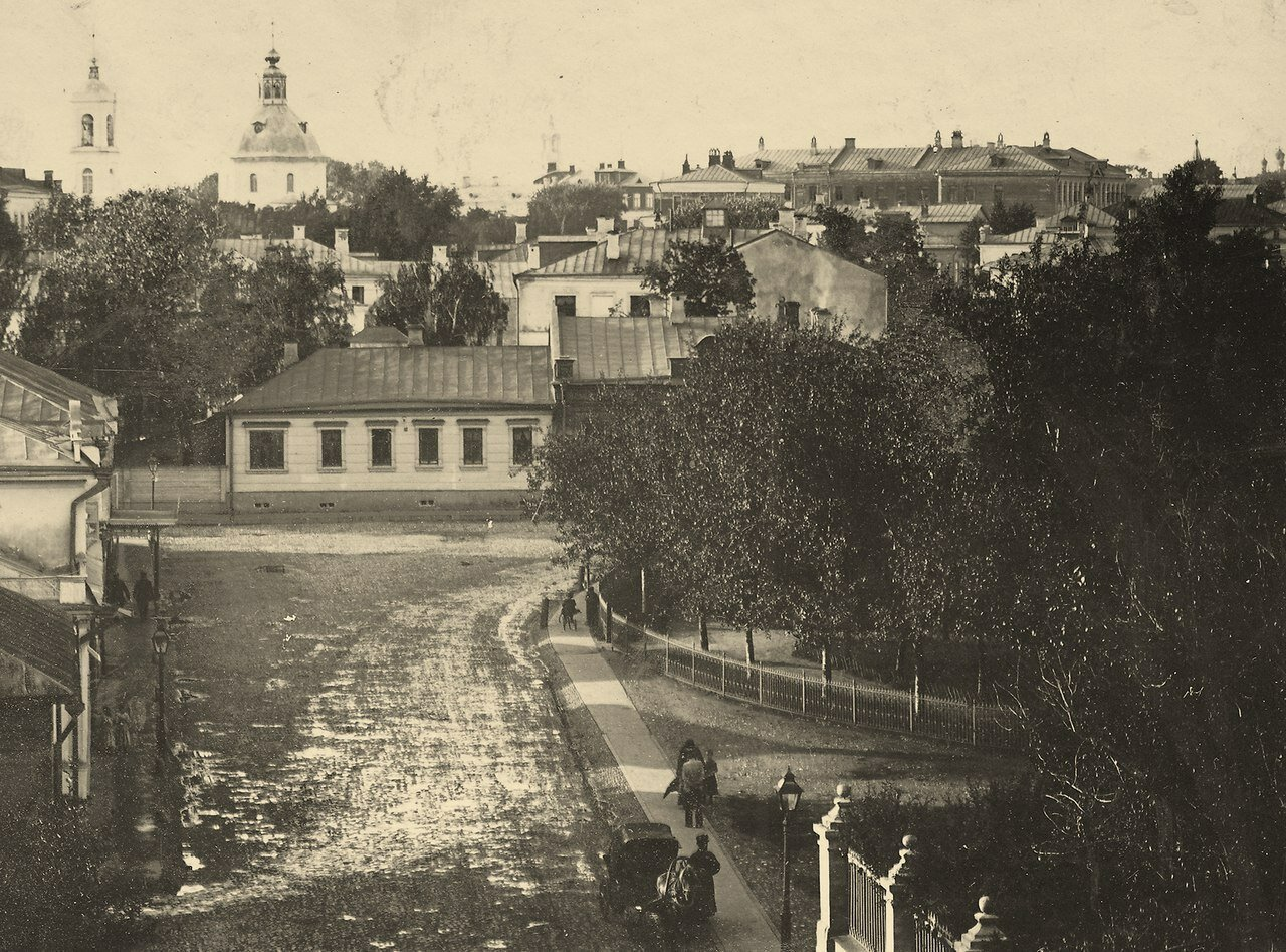 230. Спасопесковский переулок.1900