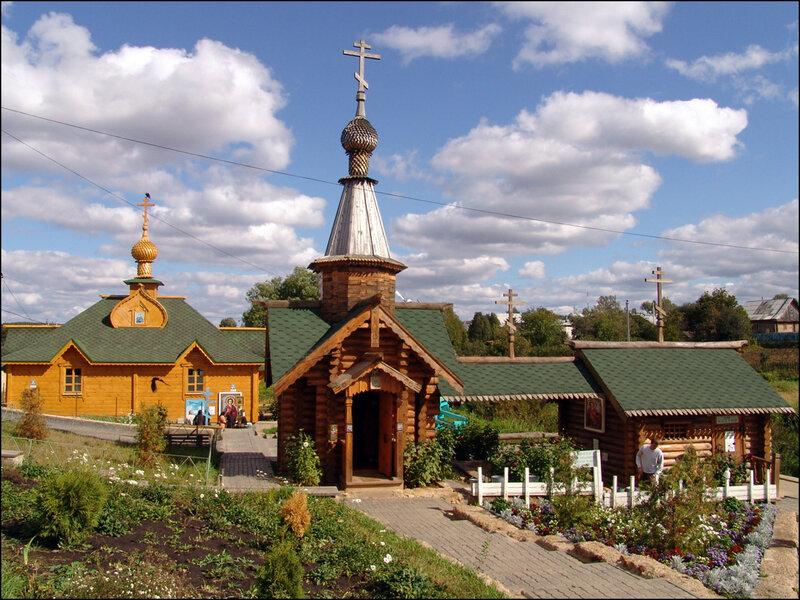 Целебные источники в честь Казанской иконы Божией Матери и вмч. и целителя Пантелеимона