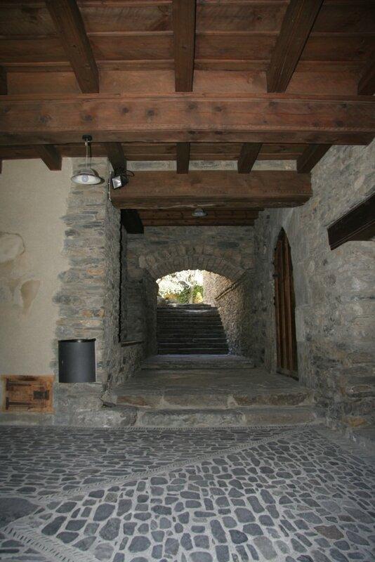 Старинный дворик, Ордино