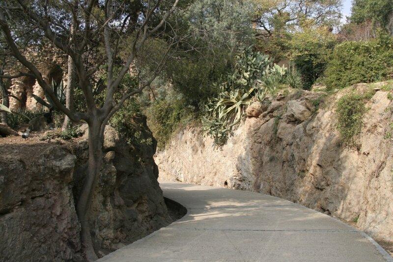Дорога, Парк Гуэля