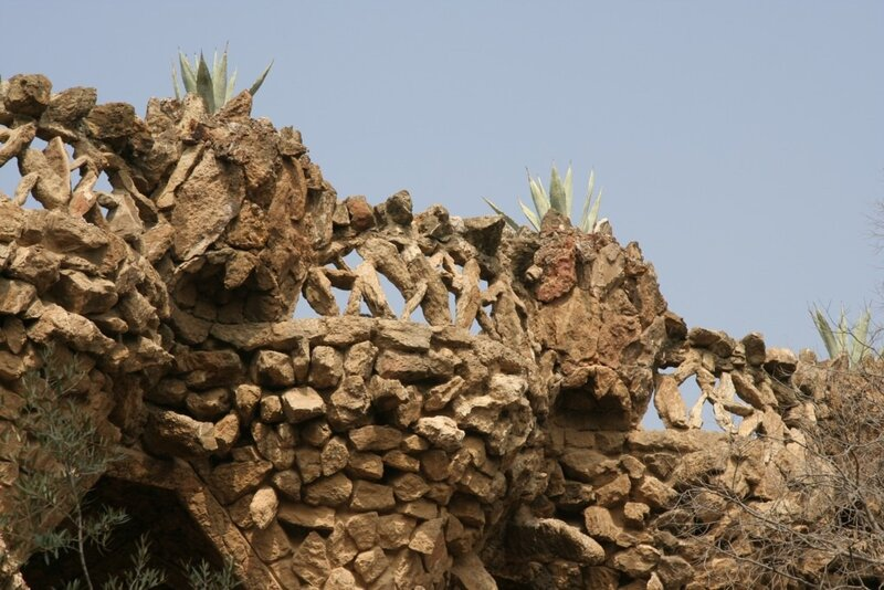 Камень и агавы