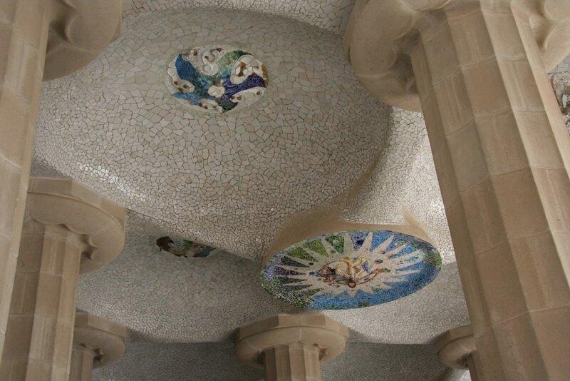 Потолок в Зале ста колонн