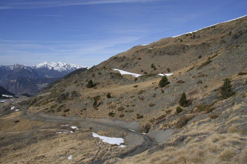 дорога в горах, Андорра