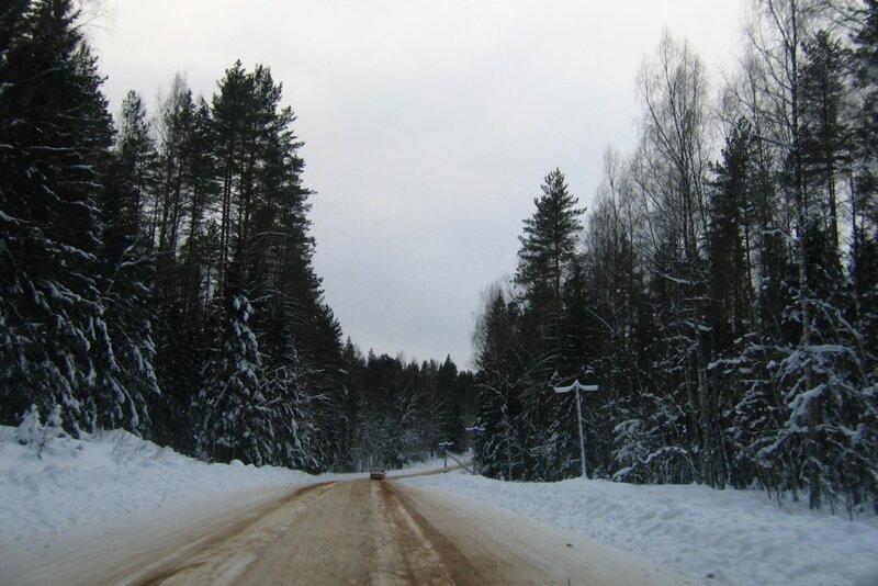 Дорога к истоку Волги