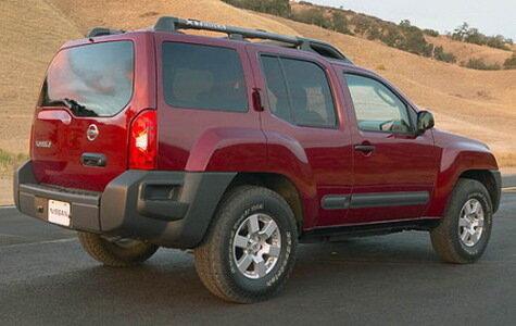 Тест-драйв кроссовера Nissan Xterra
