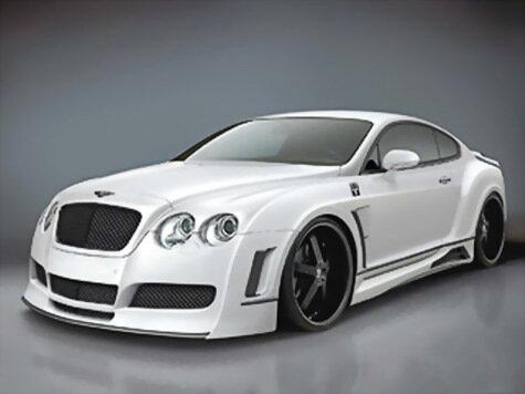 Premier4509 переиначивает внешность Bentley Continental GT