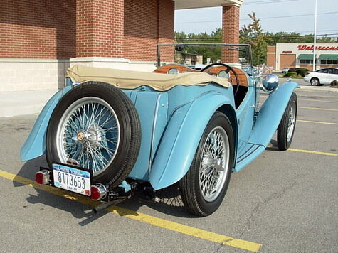 1948 MG TC Roadster