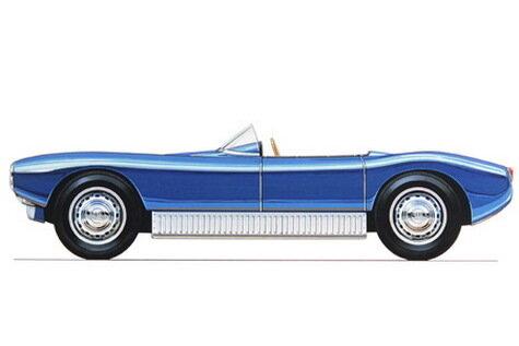 Спортивный Saab Sonett родился в сарае