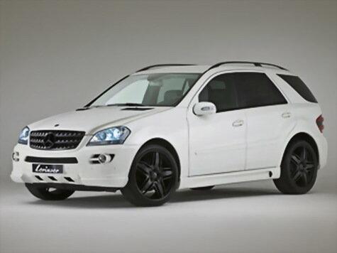 Lorinser выкатила чёрно-белый Mercedes-Benz