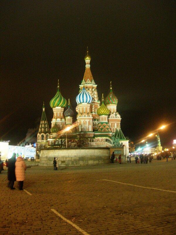 Красная площадь. Храм Василия Блаженного