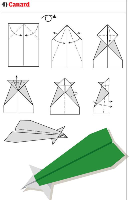 Самолетики из бумаги
