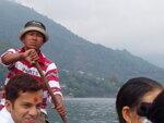на лодке по озеру Фева