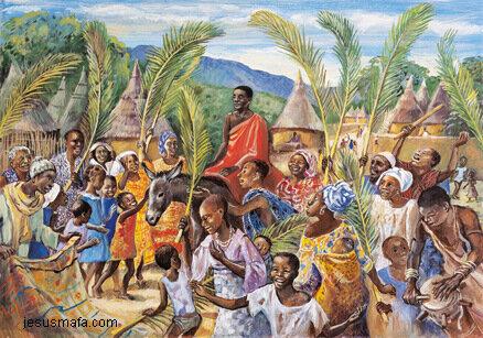 Чернокожий Иисус или каким видят Христа, библию в Африке.