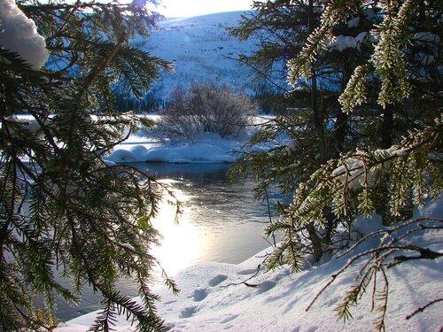 Теплая река Сейдъяврйок