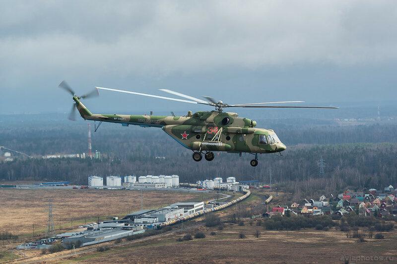 Миль Ми-8МТВ-5 (RF-90671 / 34 красный) ВКС России 100_D800182
