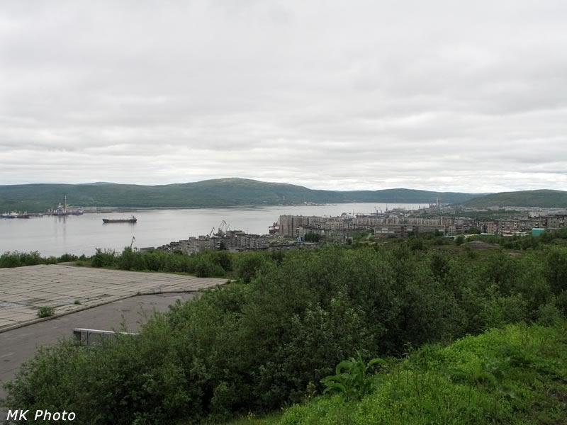 Северная часть города
