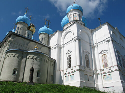 Авраамиево-Городецкий монастырь, праздник, богослужение, митрополит Ферапонт, епископ Алексий,