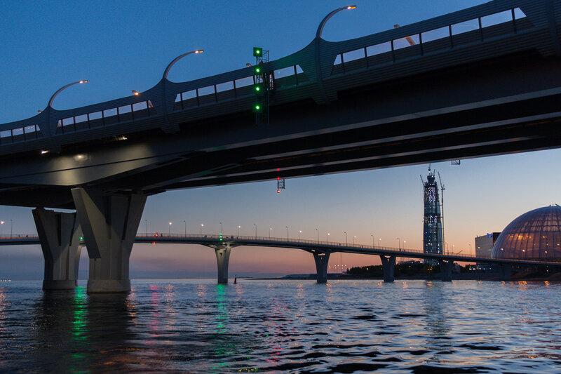 ЗСД и Яхтенный мост