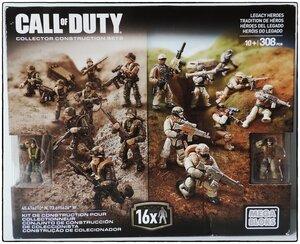 "Фотообзор Mega Bloks Call of Duty ""Legacy heroes"""