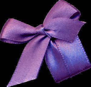 фиолетовые банты