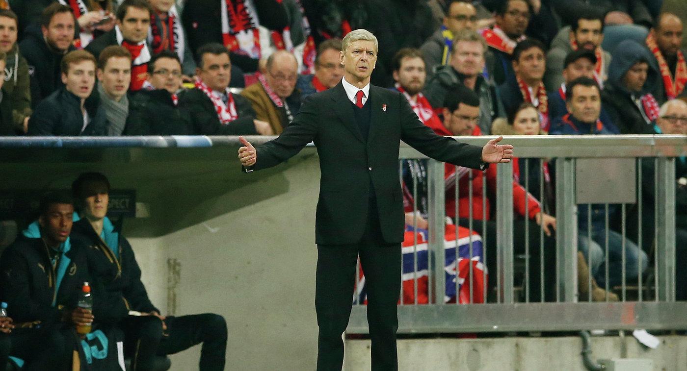 Венгер останется тренером английского «Арсенала» еще надва года