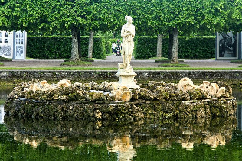 Фонтан Венера Италийская. Верхний сад. Петергоф