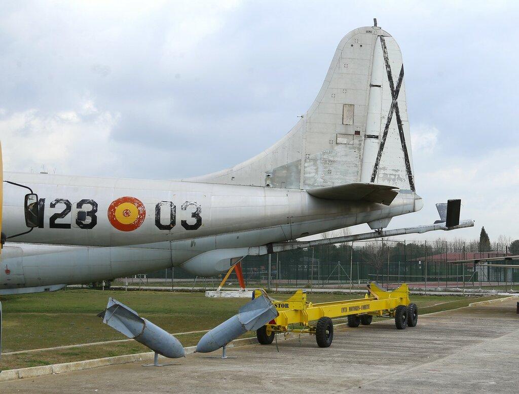 Boeing KC-97L Stratotanker. Музей аэронавтики, Мадрид