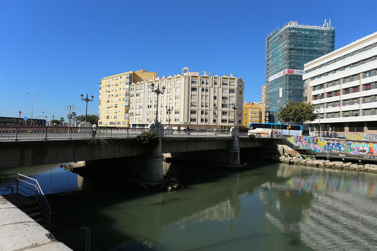 Малага. Мост Кармен (Puente del Carmen)