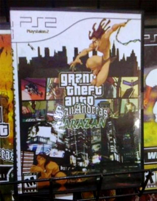 Для любителей ретро есть «GTA: San Andreas» с дополнением, в котором можно поиграть за Таразана.