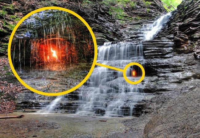 © wikimedia  Необычный водопад, который создала сама природа. Феномен явления объясняется тем,