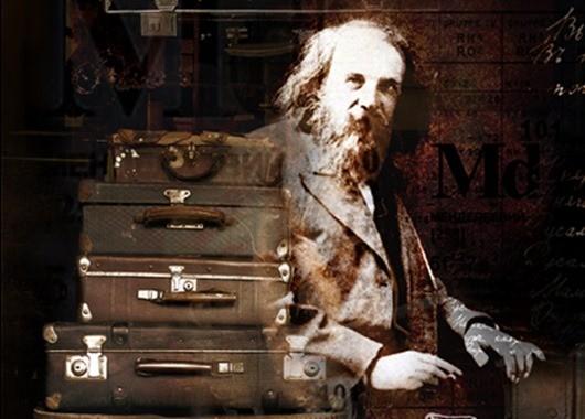 5. Чемоданных дел мастер Д. И. Менделеев, кроме химии, много времени он посвящал своим хобби — переп