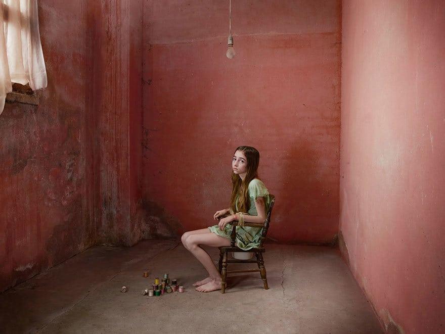 Джини (США, 1970 год) Когда Джини была еще маленькой, ее отец решил, что она умственно отсталая. Он