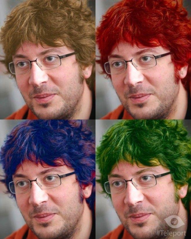Крутое приложение для перекраски волос и смены фона