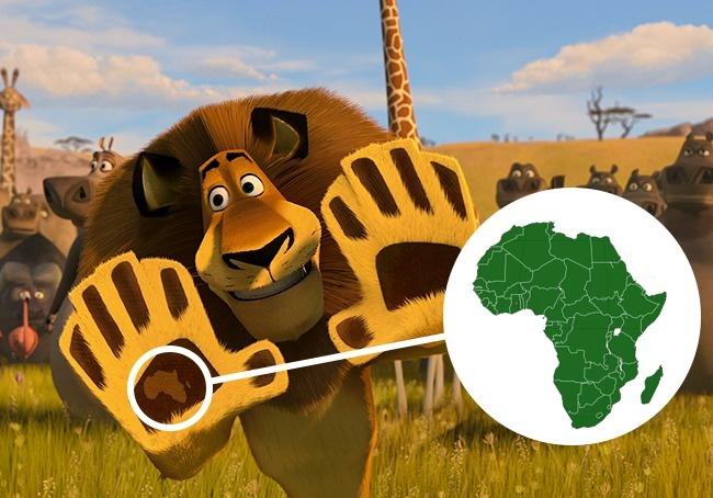 © DreamWorks  Вторая часть мультфильма пестрит элементами соскрытым посланием. Так, когда Але