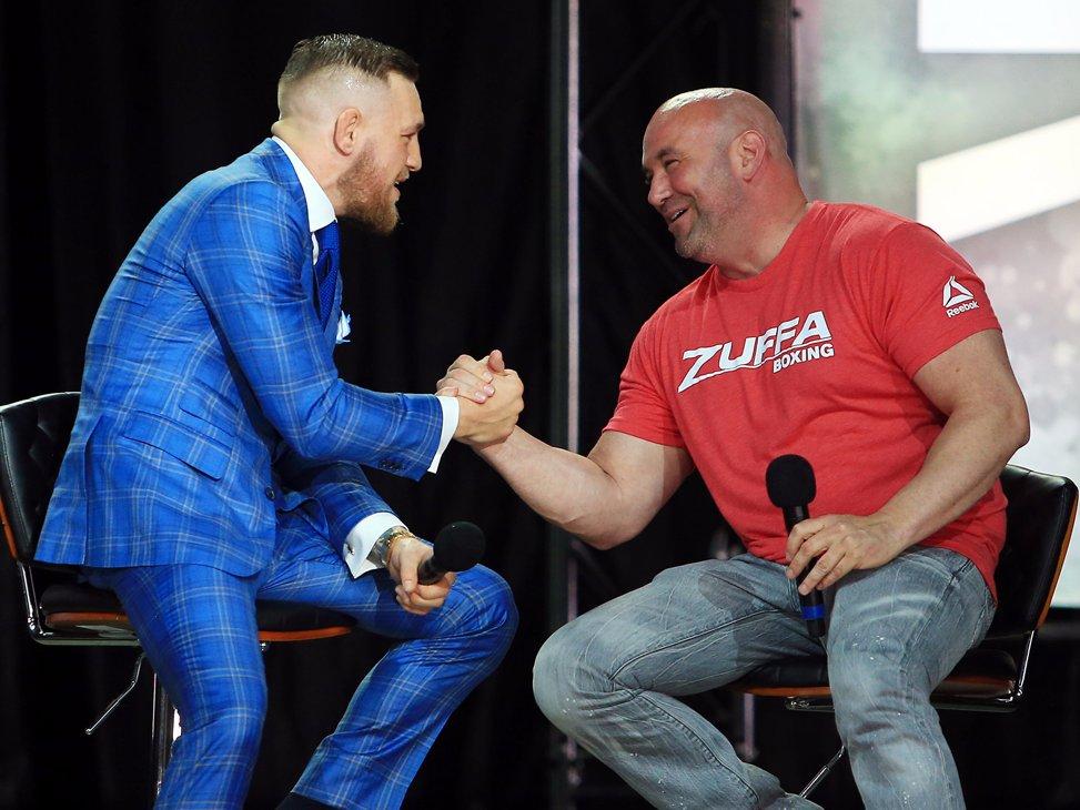 Президент UFC Дэйна Уайт был поражен боем новичка. «Это его первый бой в UFC. Он зашел на октагон и