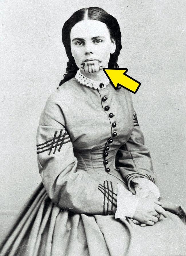 © Wikipedia Commons  Родители Олив Оатман были убиты в1859году, когда ейбыло всего 14лет.