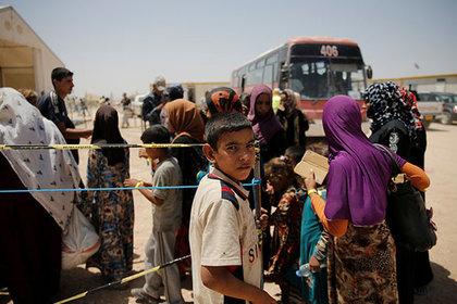 Исламские боевики экстремистской группировки расстреляли бежавших изМосула мирных граждан