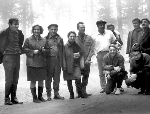 Встреча Тодора Живкова с молодыми интеллектуалами. 1968 г.