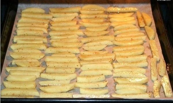 Хрустящий картофель фри без капли жира