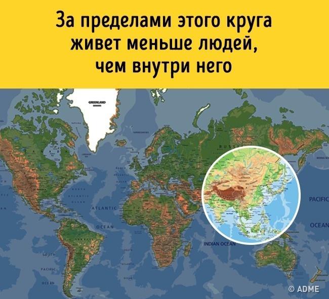 18 карт мира, которые нам не показывали в школе. А зря