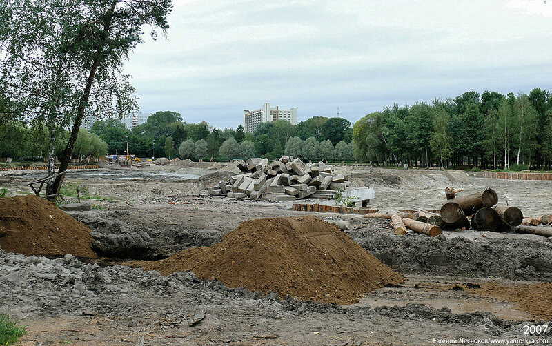 017А. Измайл.парк. Реконструкция пруда. 19.08.07.1.JPG