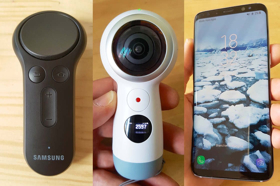 Galaxy S8, Gear VR and Gear 360 - The latest gadgets from Samsung